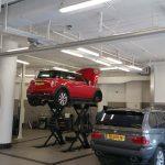 מוסך BMW ו MINI ירושלים מערכת שאיבת גזים ומערכת שמנים ממוחשבת
